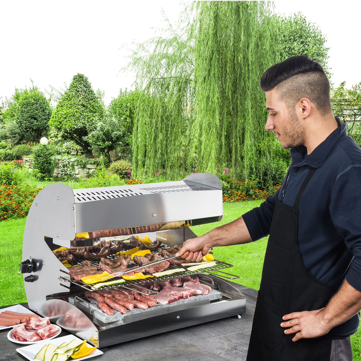 Barbecue Outdoor Heating