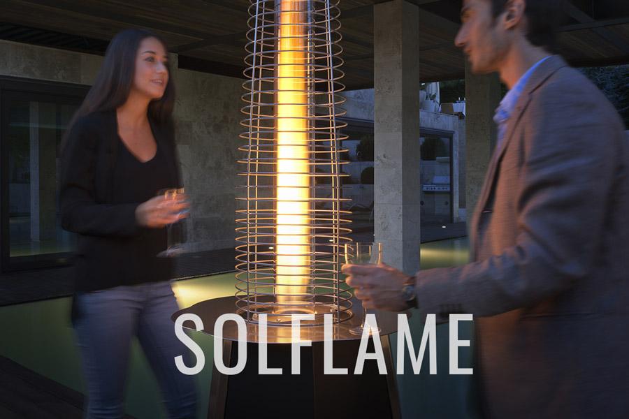 Solflame : chaleur et design a un prix compétitif